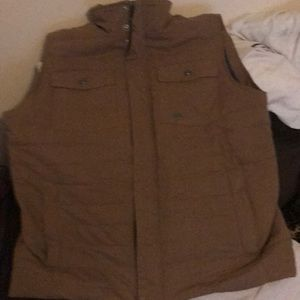 Mountain Khaki Swagger Vest